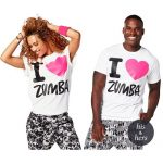 I love ZUMBA Tシャツ♪
